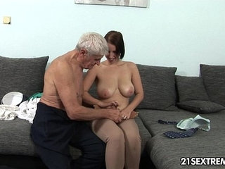 Perverted grannies showing their lustful side during hardcore sex with people